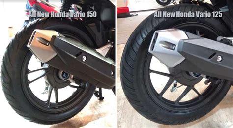 2018 Ukuran Ban by Ini Perbedaan All New Honda Vario 150 Dan All New Honda