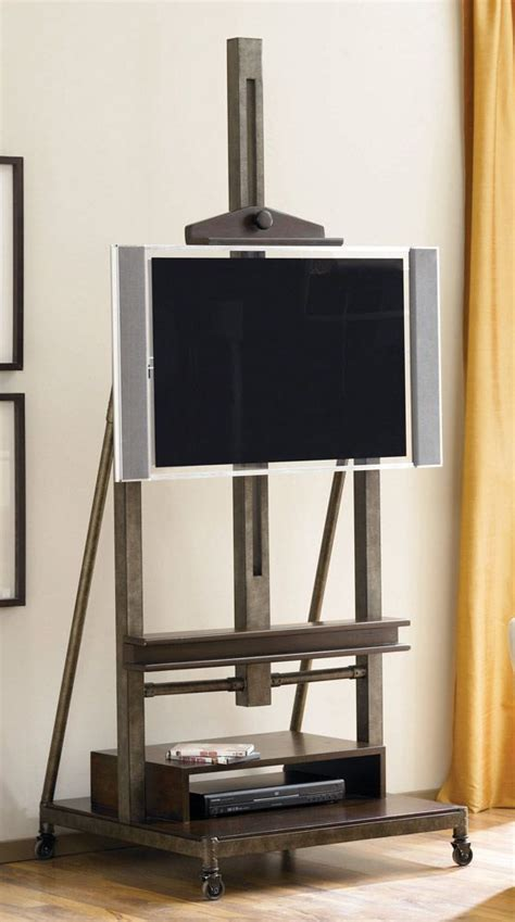 artist easel tv stand woodworking projects plans