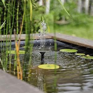 Pompe Bassin Solaire Jardiland : fontaine solaire petits bassins sj150 sujet fontaine pompe bassin ~ Dallasstarsshop.com Idées de Décoration