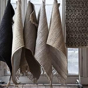 Tapis De Chanvre : tell me more tapis toile de chanvre noir 140x200cm tell me more petite lily interiors ~ Dode.kayakingforconservation.com Idées de Décoration
