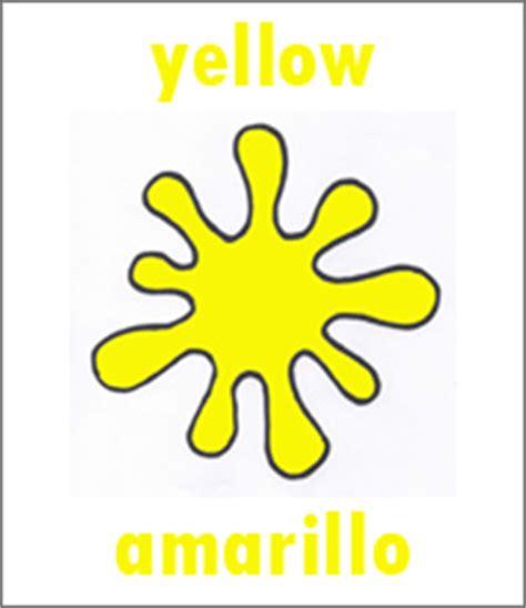 amarillo color  spanish