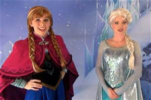 Anna and Elsa from Disney's FROZEN – First Public Meet ...