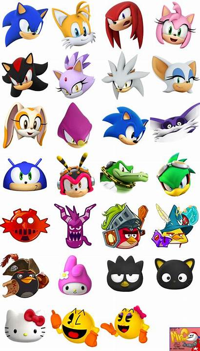 Sheet Character Sonic Heads Dash Spriters Resource