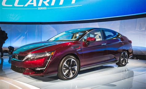 2018 Honda Clarity Electric And Plug-in Hybrid Photos And