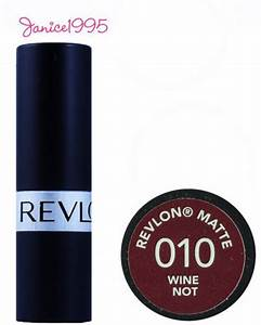 Revlon Matte Lipstick 010 Wine Not | eBay | To Buy ...