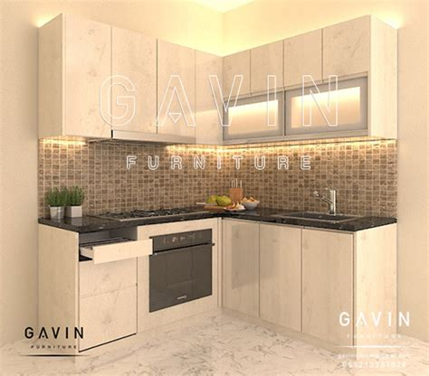 design kitchen set minimalis project kitchen set dapur minimalis finishing hpl di 6577