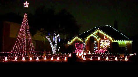 christmas lights texas  aggie war hymn frisco tx