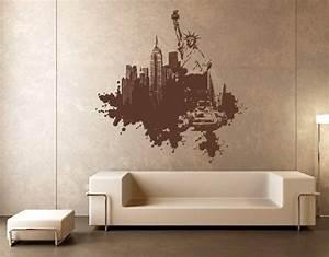 Farbe An Wand : ausgefallene wandgestaltung mit farbe ~ Markanthonyermac.com Haus und Dekorationen