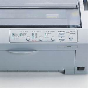 epson lq 590 dot matrix printer epsc11c558001 With epson invoice printer