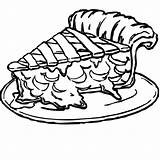 Cake Slice Coloring Pages Tasty sketch template
