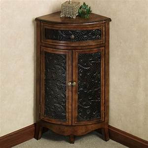 Awesome Small Corner Accent Table With Drawer Of Lombardy