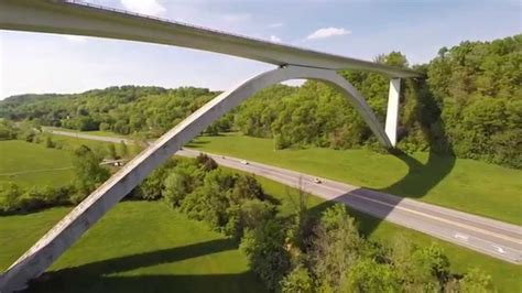 natchez trace parkway bridge nashville tennessee dji