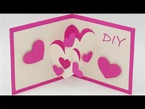 3d Bilder Selber Machen : muttertagsgeschenke basteln pop up cards zum muttertag selber basteln youtube ~ Frokenaadalensverden.com Haus und Dekorationen