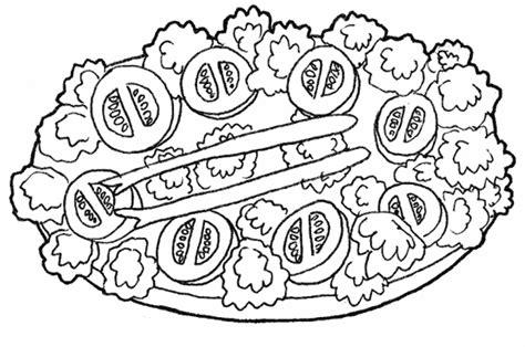 cuisine dessin laitue dessin