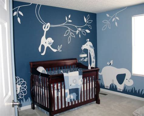 Decorating Ideas For Baby Boy Bedroom by Modern Animal Theme Nursery Designs Decorating Ideas