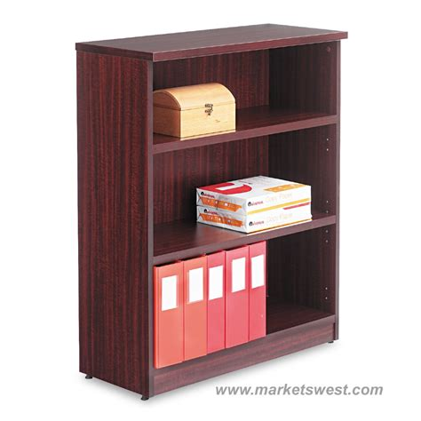 Alera Bookcase by Alera 3 Shelf Laminate Bookcase