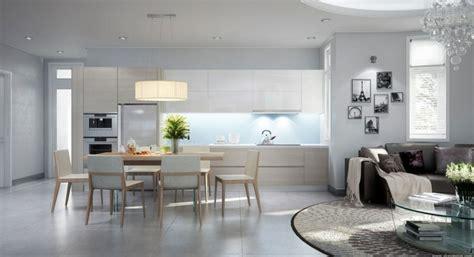 decoration salon avec cuisine ouverte cuisine ouverte sur salon une solution pour tous les espaces