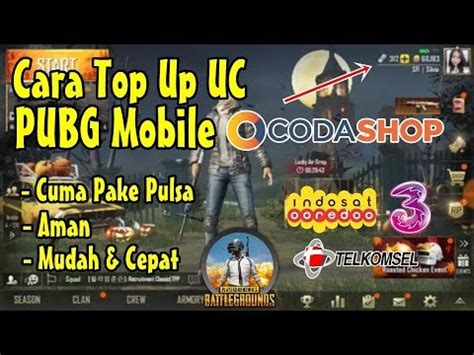 top  uc pubg mobile  codashop  pulsa