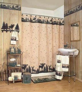 deer shower curtain foter