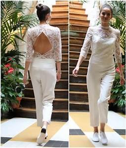 combinaison mariage trendy tenue de mariage femme en With robe pour mariage cette combinaison collier prénom or