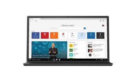 how to get rid of microsoft edge and get a new web browser