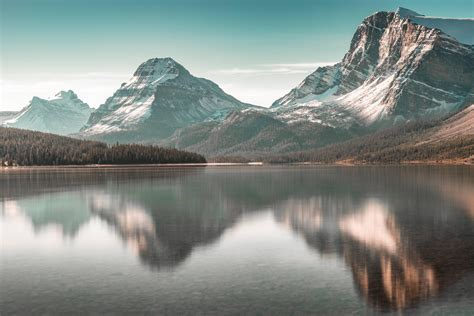 bow lake hd nature  wallpapers images backgrounds