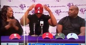 VIDEO: 5-Star Commit's Dad Has Priceless Reaction to His ...