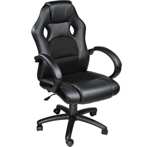 chaise de bureau sport chaise de bureau fauteuil de bureau racing sport noir