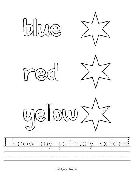 i my primary colors worksheet twisty noodle 474 | i know my primary colors 2 worksheet png 468x609 q85