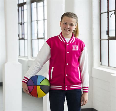 In 5 Introductory Offer Children 39 S Clothes Personalised Childs Varsity Jacket