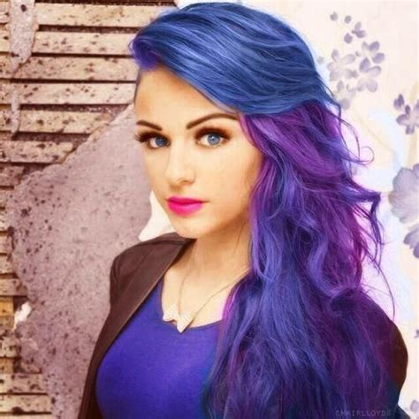 Different Shades Of Hairstyles by Purple Hairstyles These 50 Purple Shade Hairstyles