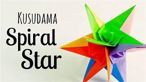 Origami Spiral Star Instructions  Grzegorz Bubniak