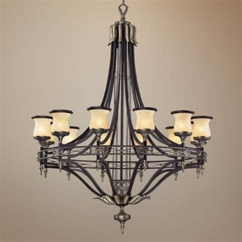georgian court collection 48 quot wide large chandelier
