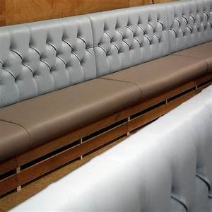 Deep buttoned back #restaurant #banquette #seating ...