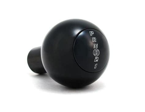 push button shift knob upr mustang aod shifter knob w push button black 87 04