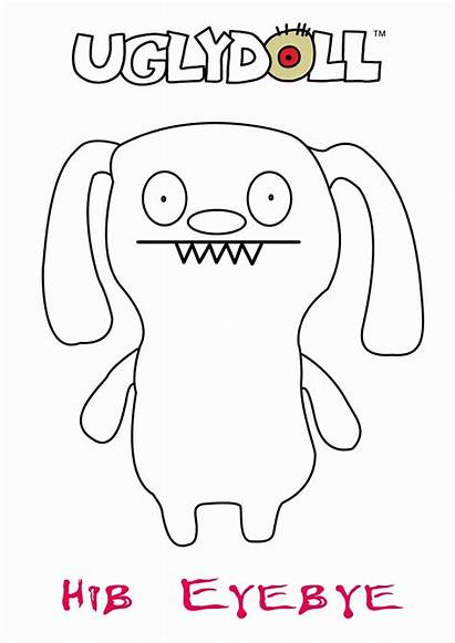 Coloring Ugly Dolls Pages Popular