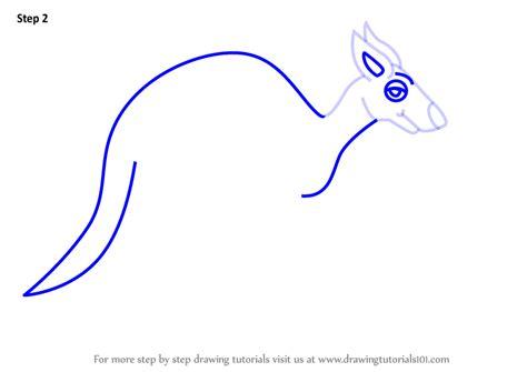learn   draw  cartoon kangaroo cartoon animals