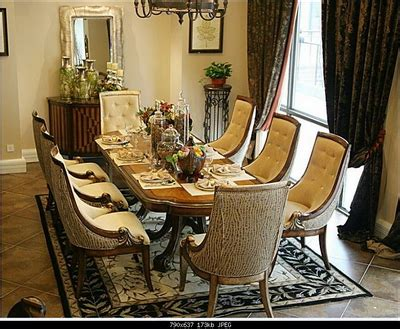european style dining table  chair combination   set