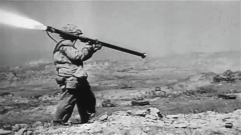 Battle Of Iwo Jima Us Marines In Heavy Combat Ww2 Footage