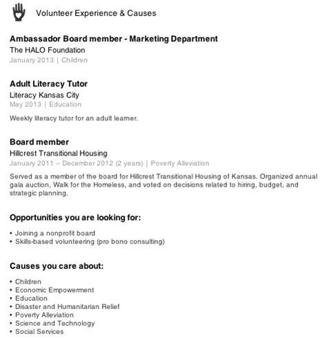 resume community service coordinator