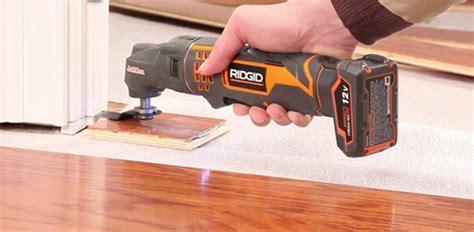 door jamb saw ridgid jobmax multi tool today s homeowner