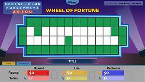 wheel of fortune board template quantumgamingco With wheel of fortune board template