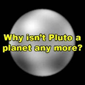 why pluto is not a planet anymore