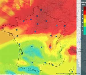 Carte France Pollution : carte de france de la pollution de l 39 air chroniques cartographiques ~ Medecine-chirurgie-esthetiques.com Avis de Voitures