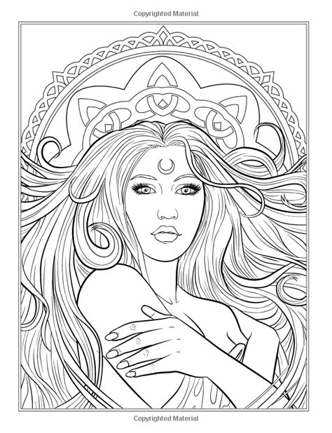 Gothic - Dark Fantasy Coloring Book: Volume 6 Fantasy Art