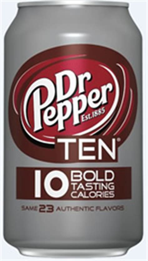 Caffeine in Dr Pepper 10