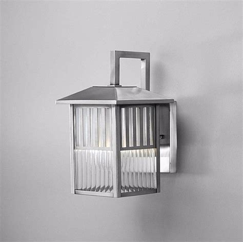 brushed nickel  light outdoor wall light fixture