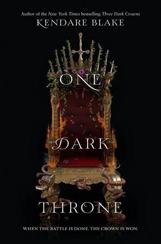 dark throne  dark crowns   kendare blake