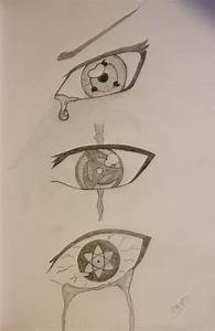 (Mangekyou) Sharingan Drawing - Naruto by ojkadir on ...