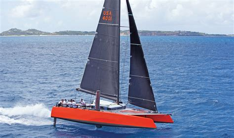 Catamaran Gunboat by Sailing And Foiling Gunboat G4 Catamaran Sail Magazine